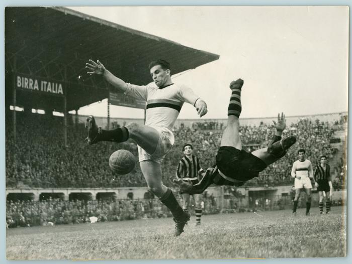 Gol di Gunnar Nordhal - 1950