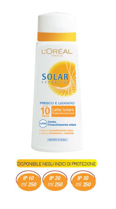 Solari L'Oreal Solar Expertise Latte Solare