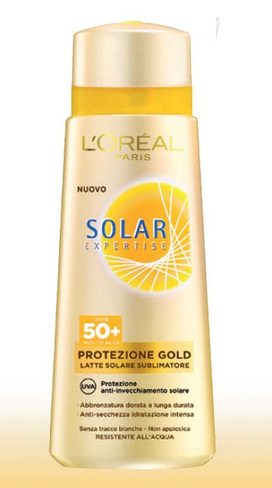 Solari L'Oreal Solar Expertise Protezione Gold