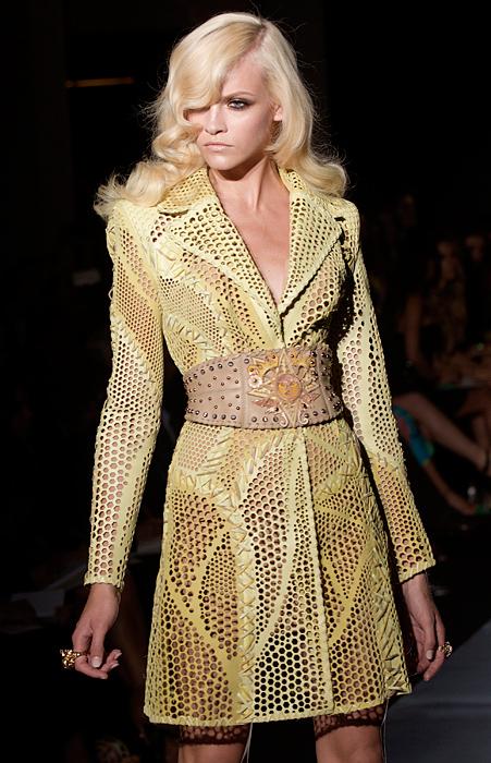 Trench traforato Atelier Versace