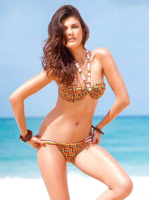 Bikini Yamamay Geometrico multicolore