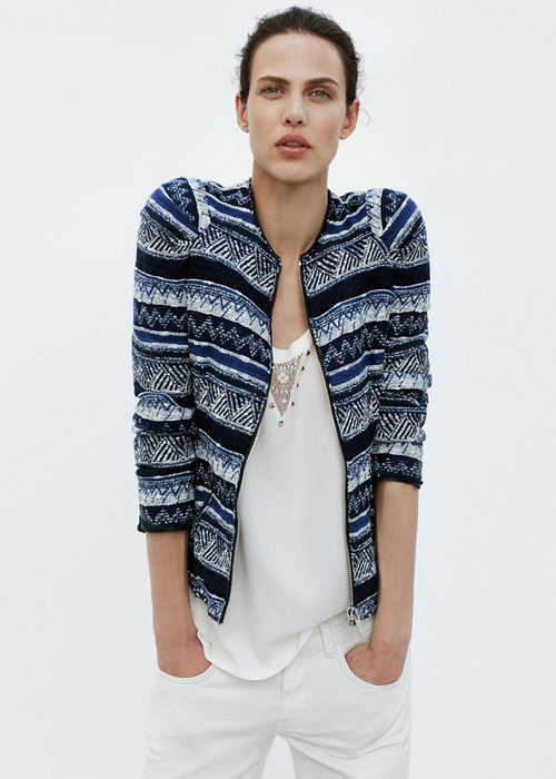 Cardigan e Denim Zara
