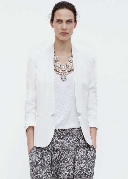 Blazer e pantaloni Zara