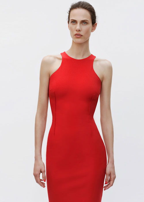 Vestito rosso Zara