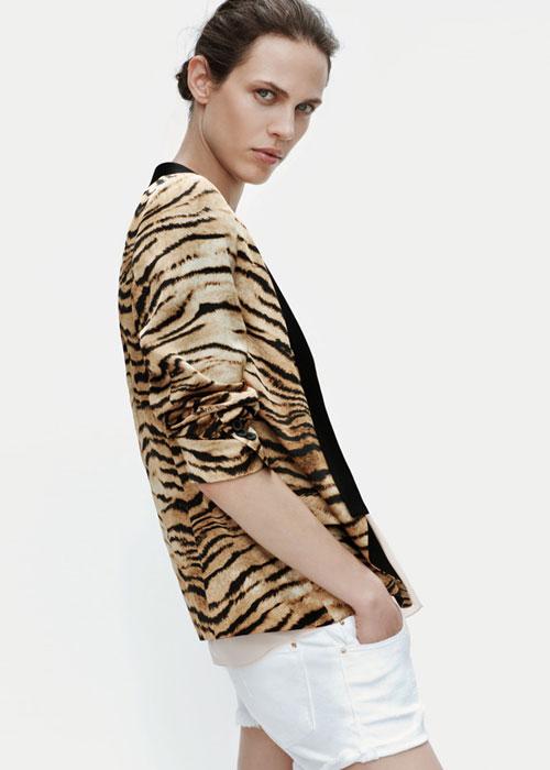 Top animalier Zara