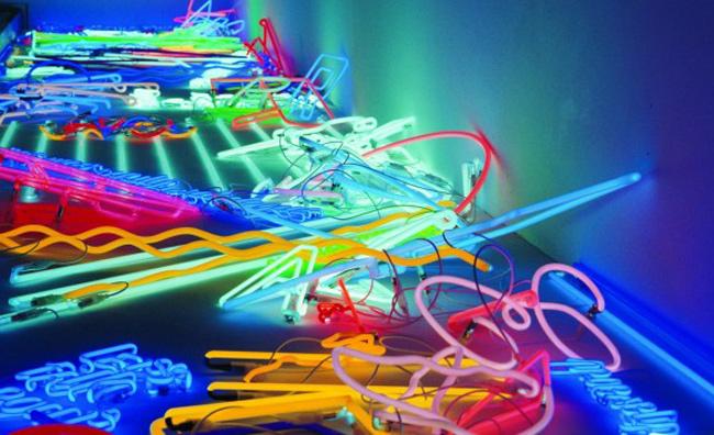 Neon, materia d'artista