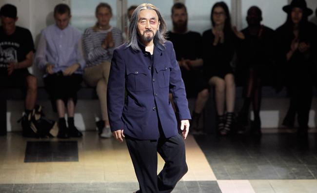 Gli abiti di Yamamoto in mostra ad Holon