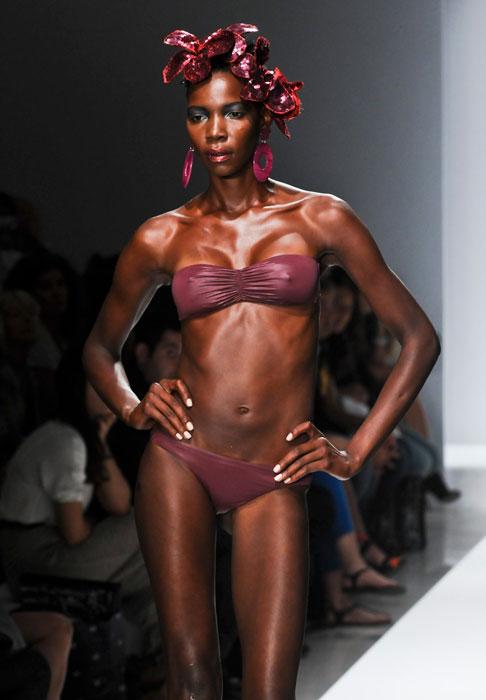 Bikini a fascia Parah
