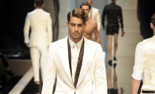 moda uomo sfilata