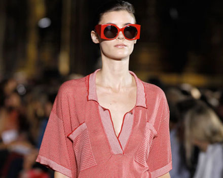 Maxi camicia maschile Stella McCartney