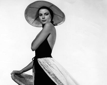 Grace Kelly con abito beachwear