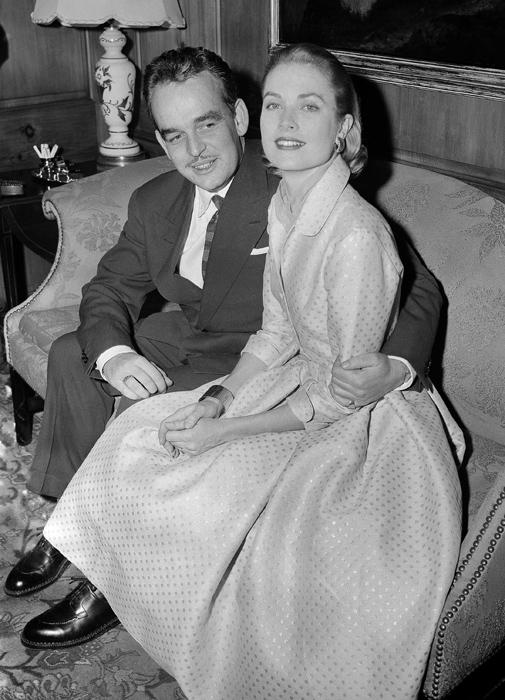 Grace Kelly e il Principe Ranieri - Pennsylvania 1956