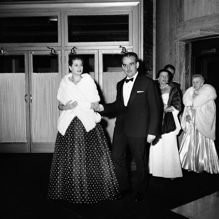 Grace Kelly e il Principe Ranieri - 1958