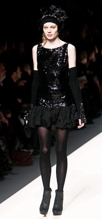 Mini abito con paillettes Blugirl