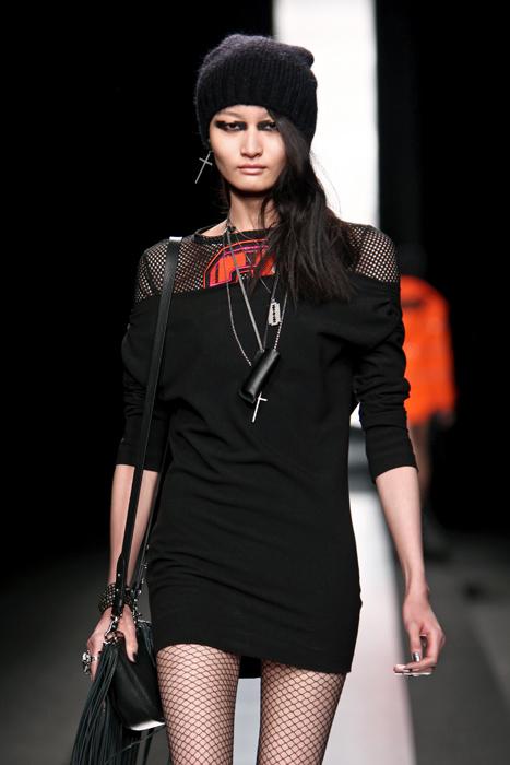 Mini abito nero Frankie Morello