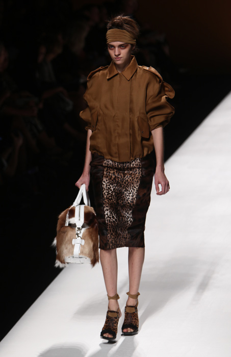 Max Mara - gonna leopardata