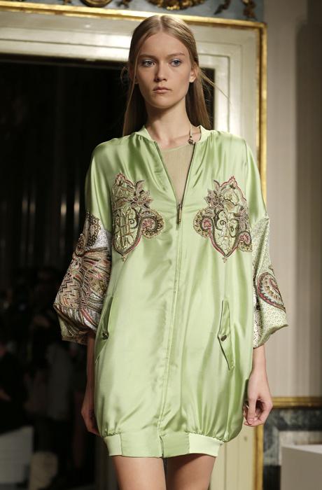 Emilio Pucci - abito corto verde chiaro