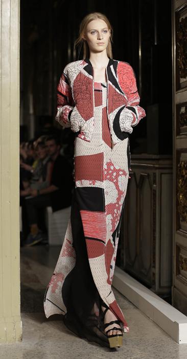 Emilio Pucci - abito lungo con giacca corta