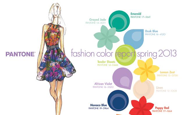 Pantone Fashion Color Report 2013