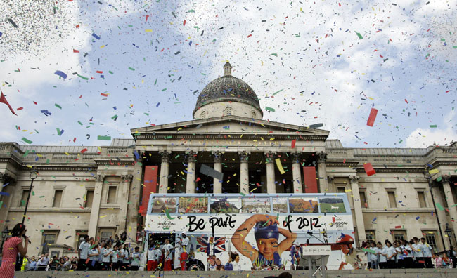 Cerimonia apertura Giochi Olimpici