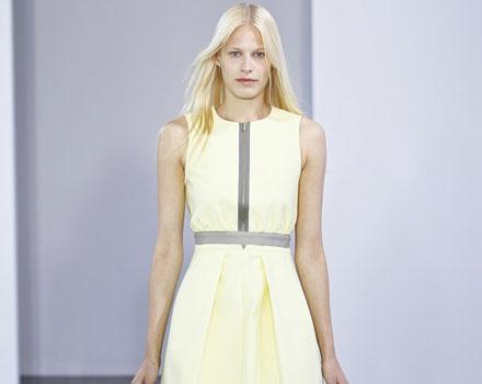Victoria by Victoria Beckham - abito color limone