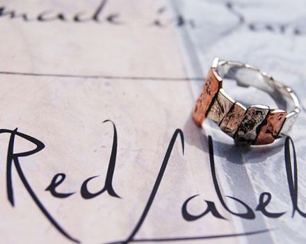 Red Label - Anello Stonehenge Medium