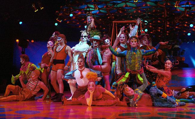 Il Cirque du Soleil live con Google