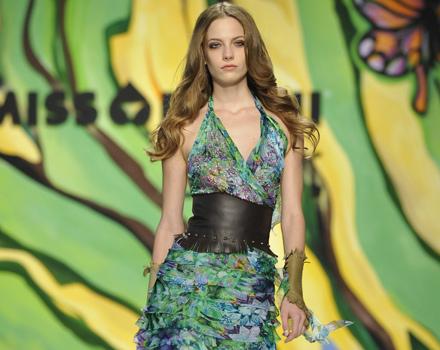 Sfilata Miss Bikini Luxe. Milano, collezione primavera estate 2013