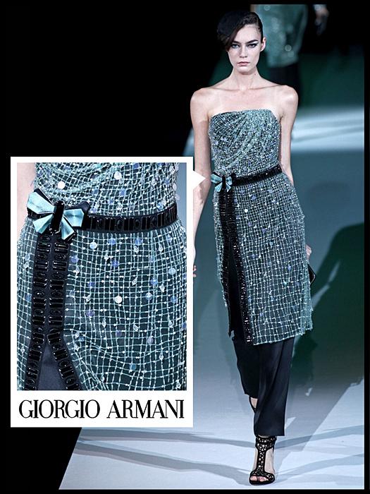 Sfilata Giorgio Armani