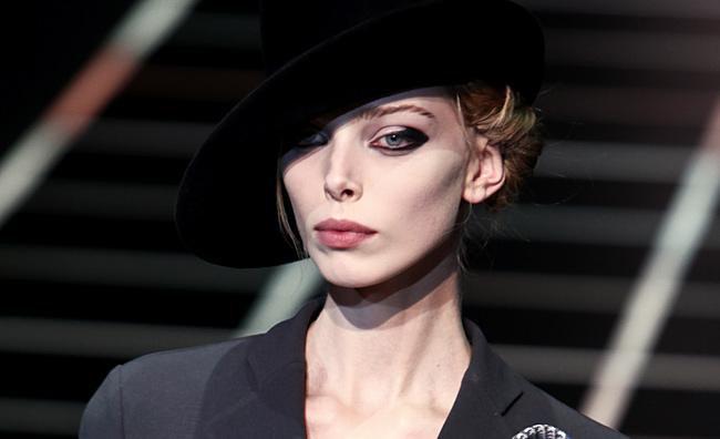 Make-up sfilata Giorgio Armani
