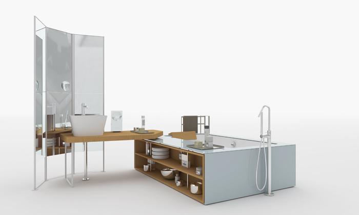 Vasca Da Bagno Makro Prezzi : Un bagno di design stile