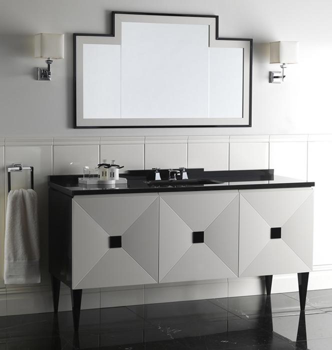 un bagno di design. Black Bedroom Furniture Sets. Home Design Ideas