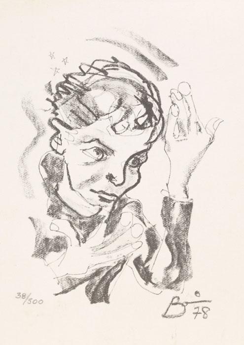 Disegno David Bowie