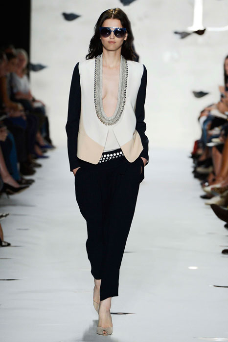 Diane von Furstenberg - Completo nero e bianco