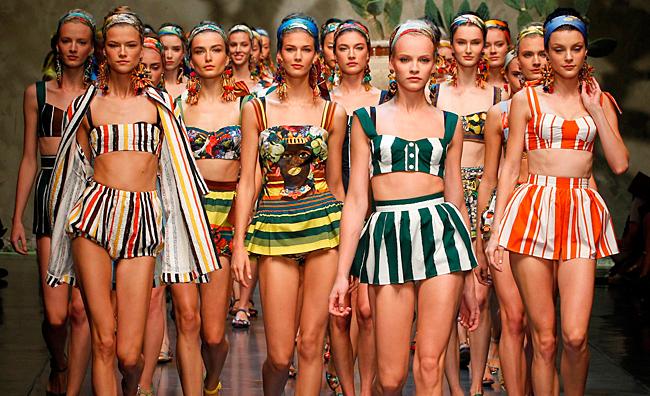 Mare, sole, amore. Dolce&Gabbana