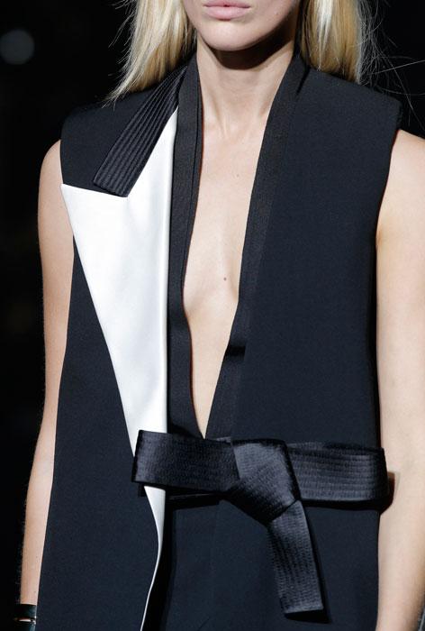 Lanvin - Dettaglio giacca nera