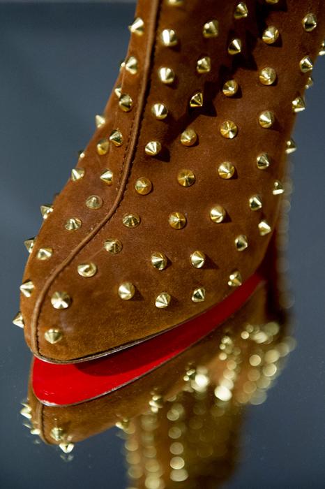 Scarpe con borchie Christian Louboutin