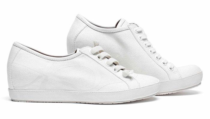 Sneaker bianche Logan Crossing prmavera estate 2013
