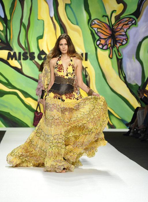 Miss Bikini Luxe - Abito lungo giallo