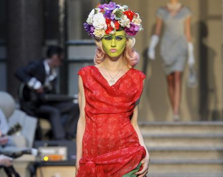 Vivienne Westwood Red Label primavera estate 2013