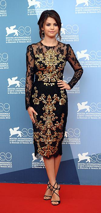 Selena Gomez in Dolce&Gabbana