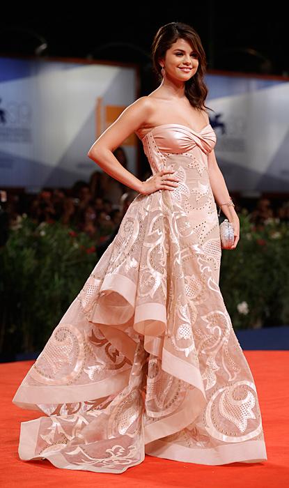 Selena Gomez in Versace Atelier