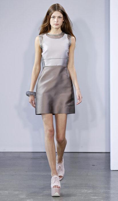Victoria by Victoria Beckham - mini abito di raso