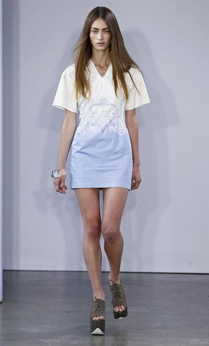 Victoria by Victoria Beckham - mini abito con scollo a v