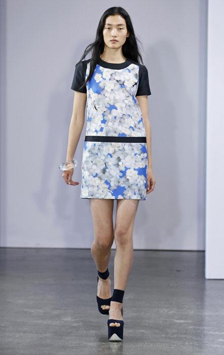 Victoria by Victoria Beckham - mini abito con stampa floreale