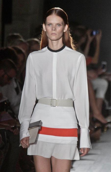 Victoria Beckham - camicia coreana bianca