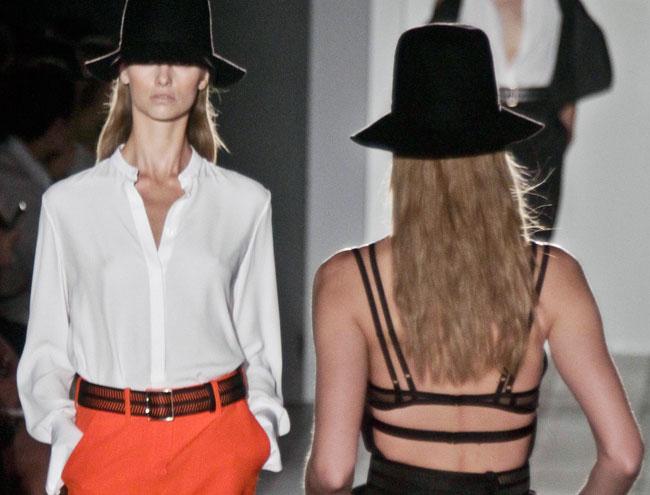 Victoria Beckham - camicia a maniche lunghe bianca