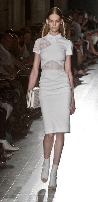 Victoria Beckham - borsa a mano bianca