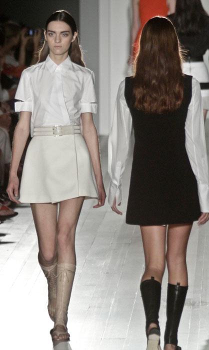 Victoria Beckham - abito corto bianco