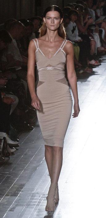 Victoria Beckham - abito stretch con spalline